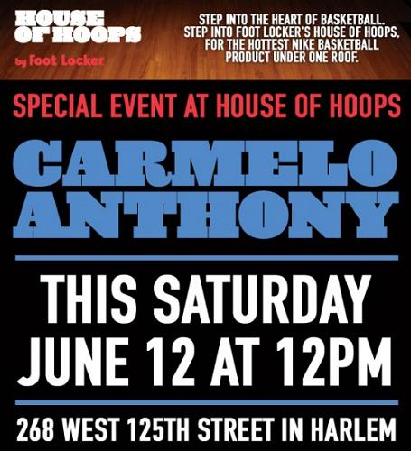 carmelo anthony shoes 2010. Posted on: June 8, 2010