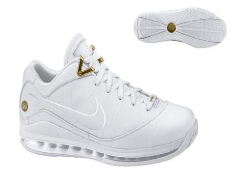 Nike Lebron 7 VII Low White