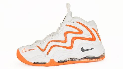 Nike Air Pippen I White Dark Grey Total Orange Available Now lovely ... 92d59732a86f