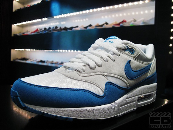 Nike Air Max 1 QS-White/Varsity Royal-Neutral Grey