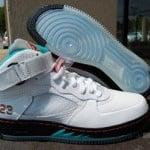 Air Jordan Fusion 5 White / Spice