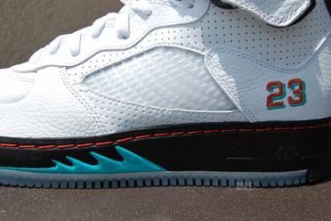 Air Jordan Fusion 5 White   Spice  c0b5027147f8