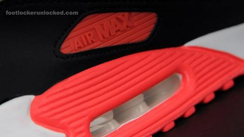 Air Max 90 Infrared white / cement / infrared