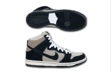 Nike SB Dunk High- 'Grit-Black/Fossil' Spring 2011