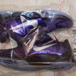 Nike Zoom Kobe V Sample Eggplant / Black / Metallic Silver