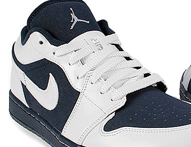 Air Jordan 1 Phat Lav Hvit / Midnight Navy kL3UI9