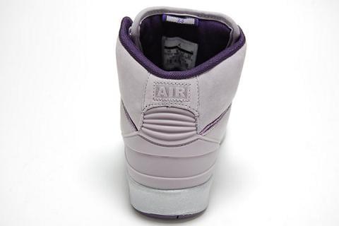 Air Jordan 2 GS Lavender / Deep Purple-Del Sol
