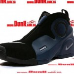 Nike Air Flightposite II Black / Midnight Navy / Metallic Silver