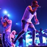 Celebrity Sneaker Watch: Pharrell – Nike Lunar Woven Chukka – Obsidian – Multi-color