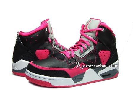 Jordan Rare Air GS Black / Pink Despite all of the negativity surrounding