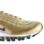 Nike Air Max 97 LE Metallic Gold / Varsity Red-White-Black