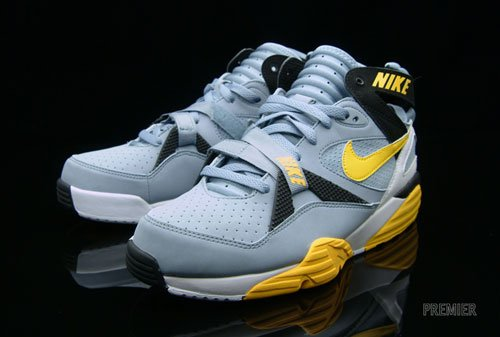 9d6bc4a83d07 Nike Air Trainer Max  91- Grey Stone- Medium Yellow