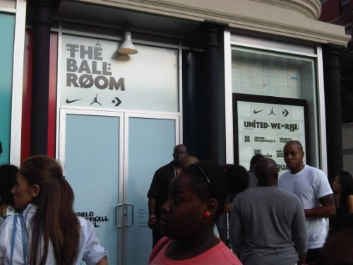 Nike/Air Jordan/Converse- Basketball Pop-Up Shop
