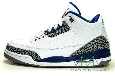 Air Jordan III True Blue Re Stock
