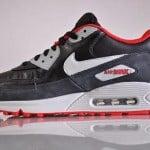 Nike Air Max 90 Obsidian / Grey-Red