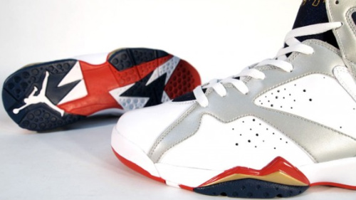 Air Jordan VII Retro 'For The Love Of The Game/Olympic' - Detailed Images