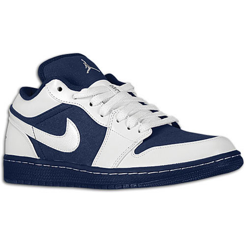 Air Jordan I Low Phat White / Midnight Navy