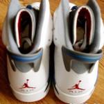 Air Jordan 6 White/Blue/Varsity Red