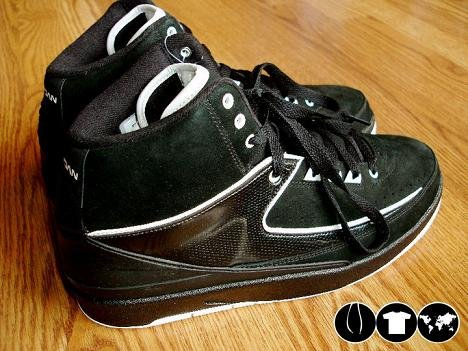 Air Jordan II Retro Black/ White