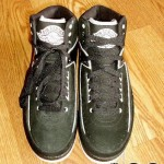 Air Jordan II Retro Black/ White