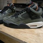Signed Undefeated Air Jordan IV