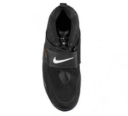 Nike Air Diamond Turf Black / White / Metallic Gold