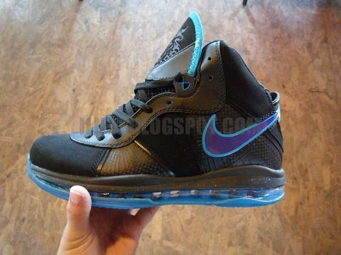 Nike Air Max LeBron VIII (8) Summit Lake Hornets