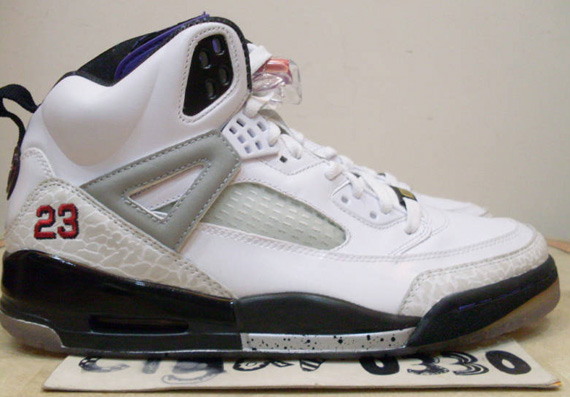 Air Jordan Spiz'ike 'Grape' - Unreleased Sample