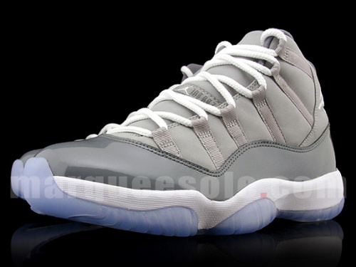 Air Jordan XI retro 'Cool Grey'- Detailed Images