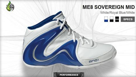 And 1 ME8 Sovereign Mid