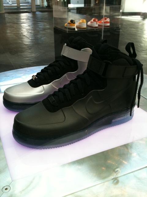 Nike Air Force 1 Foamposite - Black