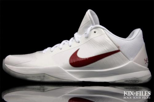 Nike Zoom Kobe V 'Lower Merion' & 'Rice' Home