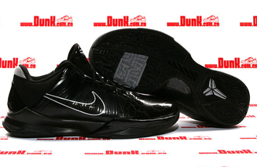 Nike Zoom Kobe V 'Blackout' - Available