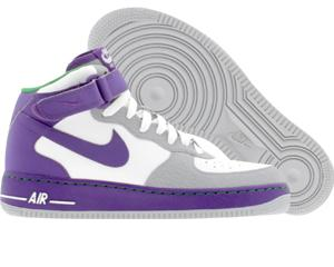 Nike Air Force 1 Mid white   clb purple   wlf grey   vctry green ... fc3e65c778