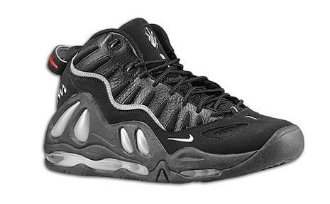 Nike Air Max Uptempo 97 Black / Metallic Silver / Varsity Red