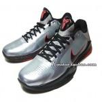 Nike Zoom Kobe V 'Wolf Grey' Detailed Images