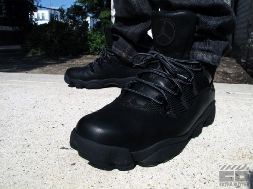 Air Jordan Six Rings Winterized Boot - Dark Cinder & Black - Available