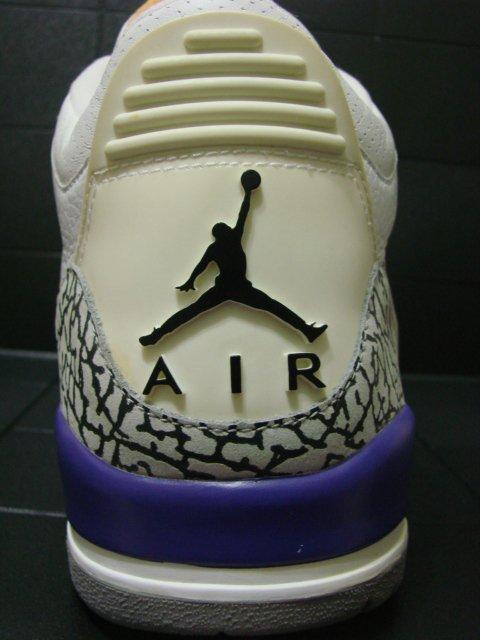 Air Jordan Retro III - Kobe Bryant PE