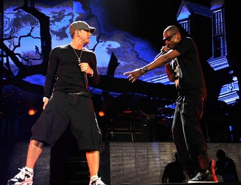 Celebrity Sneaker Sighting Jay Z Amp Eminem Home And Home
