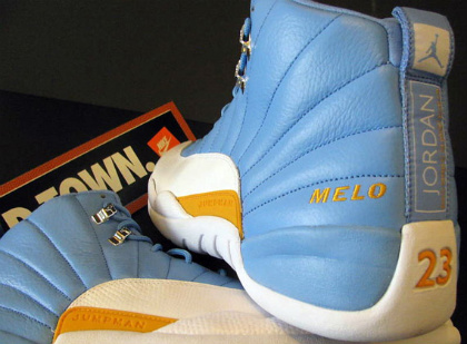 add14889d6a Air Jordan XII Retro- Carmelo Anthony PE | SneakerFiles