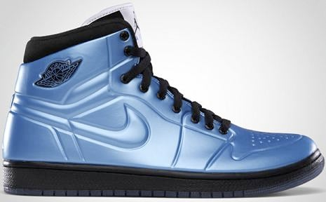 new arrival 28feb da4ad Air Jordan 1 Anodized University Blue   Metallic