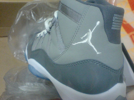 Air Jordan Retro XI 'Cool Grey' - New Images