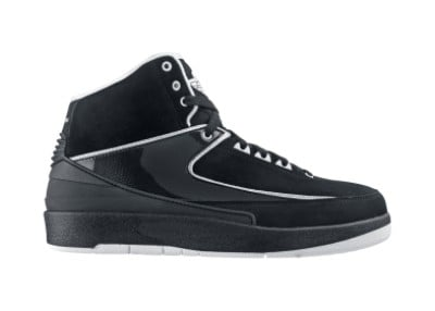 Air Jordan II Retro Black / White