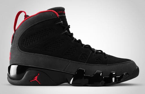 Release Reminder: Air Jordan IX Charcoal