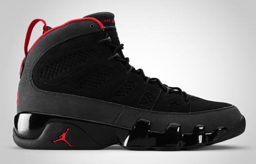 Release Reminder: Air Jordan IX Charcoal