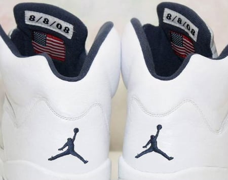 Air Jordan V - Carmelo Anthony '08 USA Olympic PE