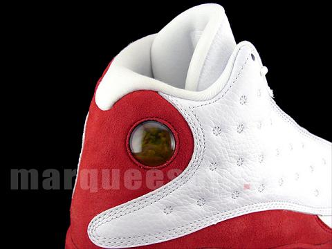Air Jordan XIII White / Red / Black Detailed Images