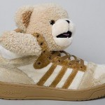 Jeremy Scott x adidas Originals 'Teddy Bears' Brown