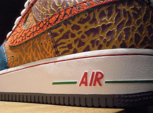 Nike Air Force 1 Bespoke @ Nike Harajuku