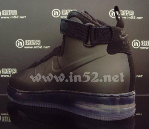 Nike Air Force 1 Foamposite - Black|Closer Look